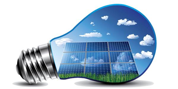 Paneles solares ampolleta